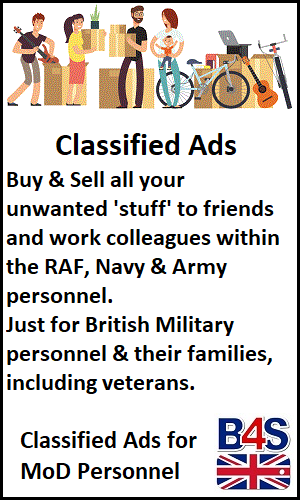 Classifieds ads for military personnel